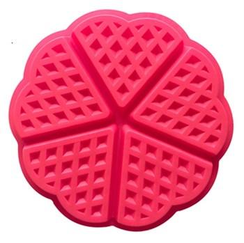 Силиконовая форма Вафли (5 ячеек) - фото 8932