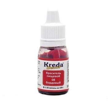 Краситель Kreda Decor (Бордовый) - фото 8981