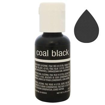 Краситель Chefmaster Liqua-Gel Coal Black - фото 9093