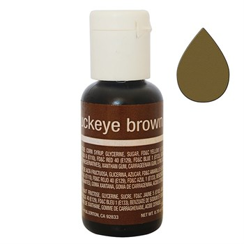 Краситель Chefmaster Liqua-Gel Buckeye Brown - фото 9094