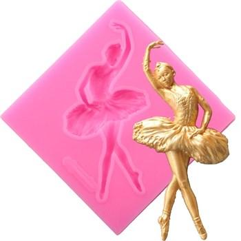 Силиконовый молд Балерина №4 - фото 9155