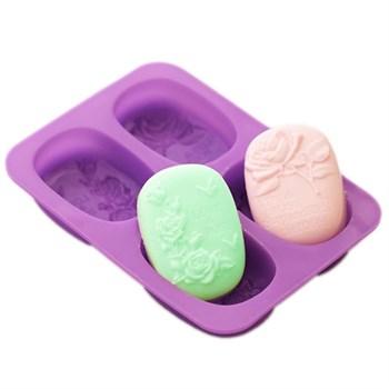 Силиконовая форма для мыла Розы - фото 9209