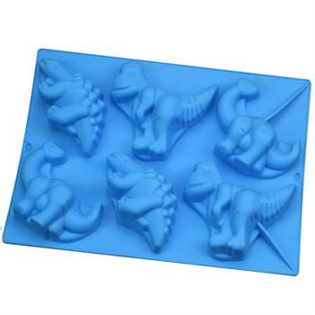 Силиконовая форма для шоколада Коллекция Динозавров - фото 9482