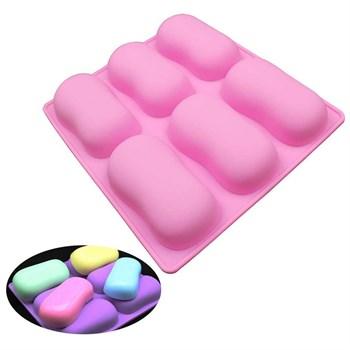 Силиконовая форма для мыла Фигурные Овалы - фото 9495