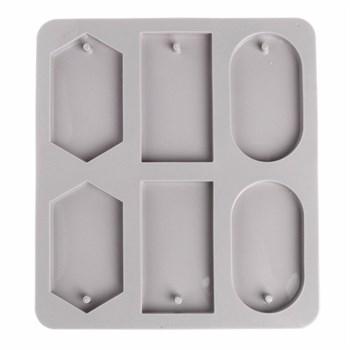 Силиконовая форма для мыла Фигуры - фото 9564