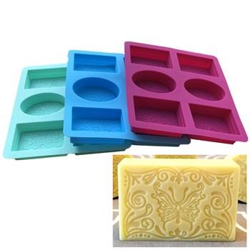 Силиконовая форма для мыла Эксклюзив - фото 9598