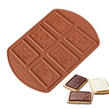 Силиконовая форма для шоколада Мыло - фото 9736