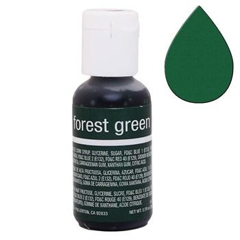 Краситель Chefmaster Liqua-Gel Forest Green - фото 9917