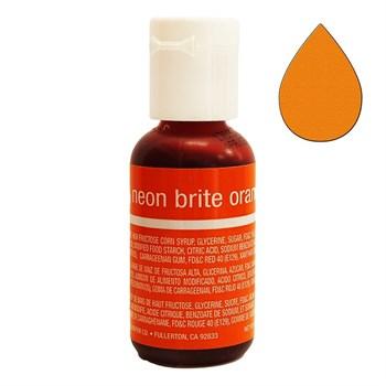 Краситель Chefmaster Liqua-Gel Brite Orange - фото 9918