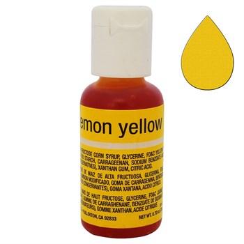 Краситель Chefmaster Liqua-Gel Lemon Yellow - фото 9922