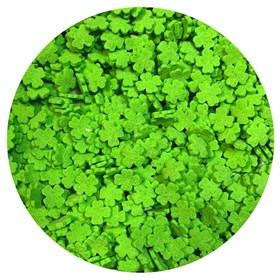 Кондитерские фигурные посыпки (Лист клевера зеленый)