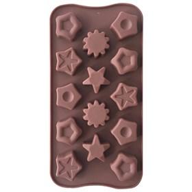 Силиконовая форма для шоколада Фигурки