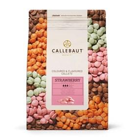 Розовый шоколад Callebaut Strawberry