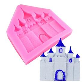 Силиконовый молд Замок (дворец)
