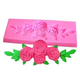 Силиконовый молд Букет из роз