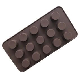 Силиконовая форма для шоколада Конфетки №3