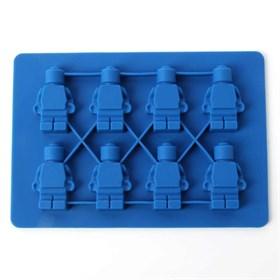 Силиконовая форма для шоколада Роботы (8 шт)