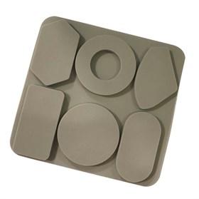 Силиконовая форма для мыла 6 видов фигур