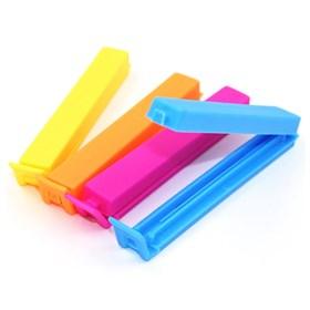 Пластиковый зажим для пакета