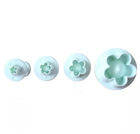 Набор из 4 формочек для вырубки Цветы сливы