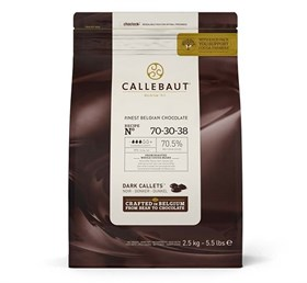 """Горький шоколад """"Callebaut"""" 70,5% 100 гр."""