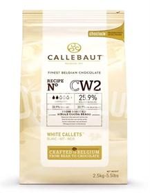 "Белый шоколад ""Callebaut"" 25,9 % 2,5 кг"