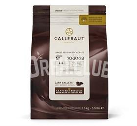 "Горький шоколад ""Callebaut"" 70,5% 2.5 кг"