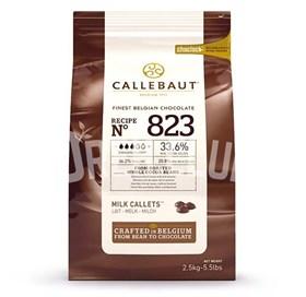"Молочный шоколад ""Callebaut"" 33,6% 2.5 кг"