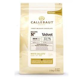 Белый шоколад Callebaut Velvet 33.1%, 100 гр.