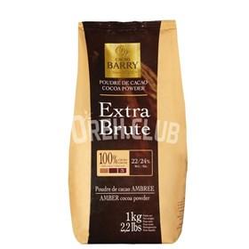 Какао-порошок алкализованный Cacao Barry Extra Brute 80 гр.