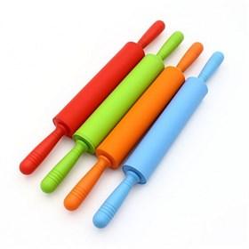 Силиконовая скалка 48 см (пластиковые ручки)