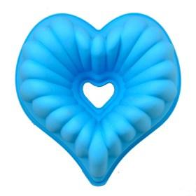 Силиконовая форма для выпечки Сердце (без серединки)