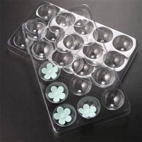 Пластиковая форма для мастики 15 ячеек (2 шт)