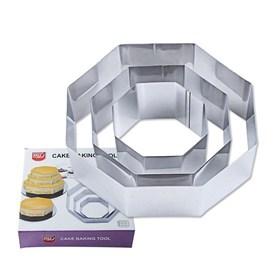 Металлический набор форм Восьмиугольник (3 шт)