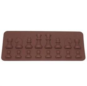 Силиконовая форма для шоколада Шахматы