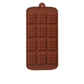 Силиконовая форма для шоколада Плиточки