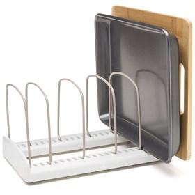 Регулируемая стойка-держатель для посуды