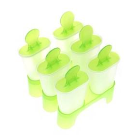 Форма для мороженного Эскимо на подставке (6 ячеек)