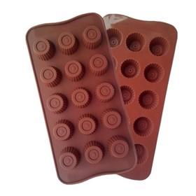 Силиконовая форма для шоколада Конфетки