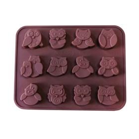 Силиконовая форма для шоколада Совята