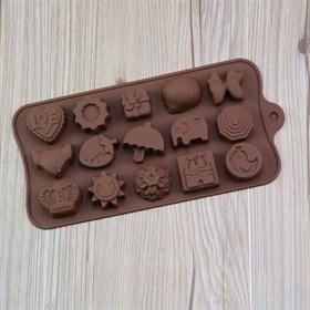 Силиконовая форма для шоколада Детские Штучки