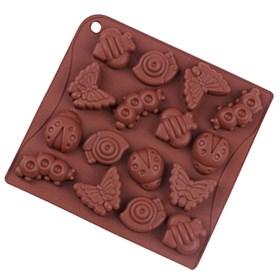 Силиконовая форма для шоколада Насекомые