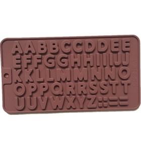 Силиконовая форма для шоколада Английские буквы