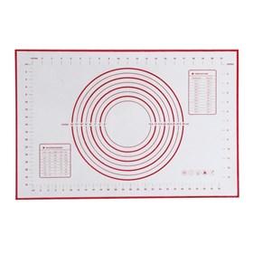 Термостойкий коврик для выпечки с разметкой