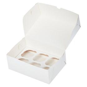 "Коробка на 6 капкейков без ""окна"""