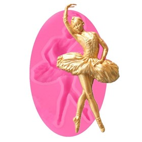 Силиконовый молд Балерина