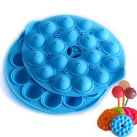 Силиконовая форма для кейк-попсов 18 ячеек