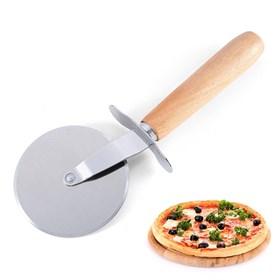 Металлический нож-ролик для пиццы