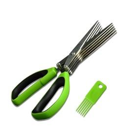 Кухонные ножницы для овощей (5 лезвий)