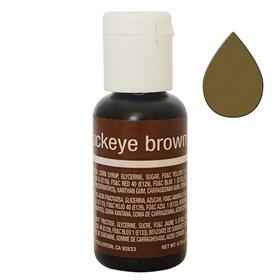 Краситель Chefmaster Liqua-Gel Buckeye Brown